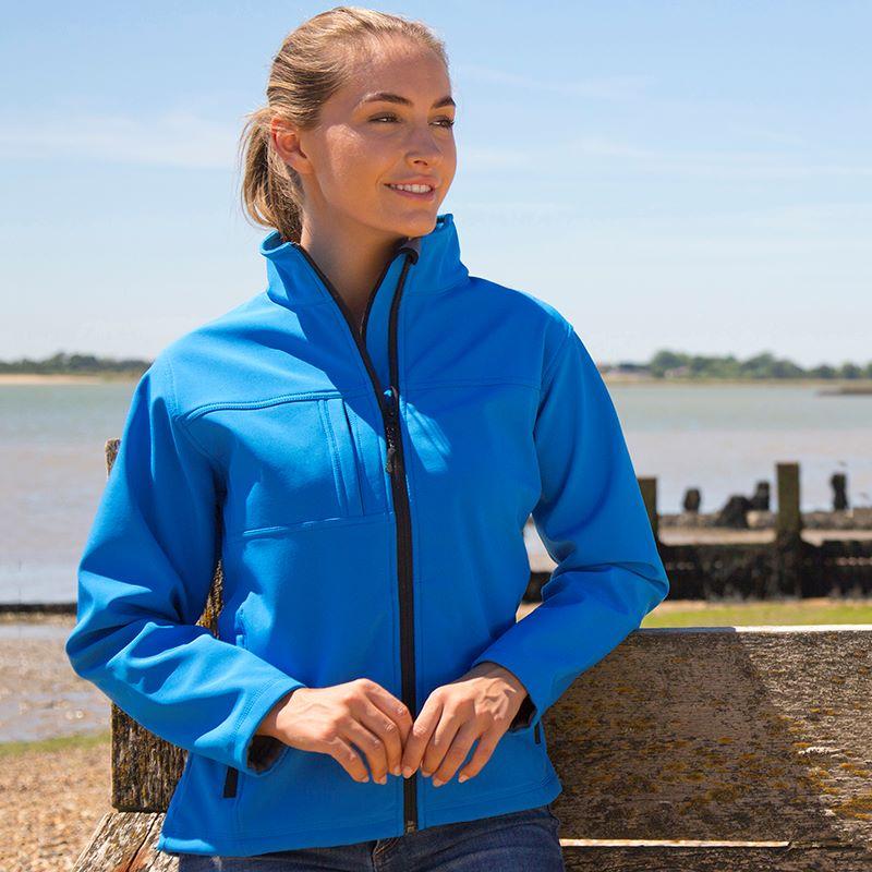 <!-- 005b -->Ladies Soft Shell Jacket