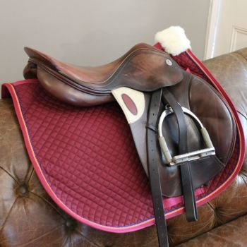 Custom Made Piped Saddle Cloth