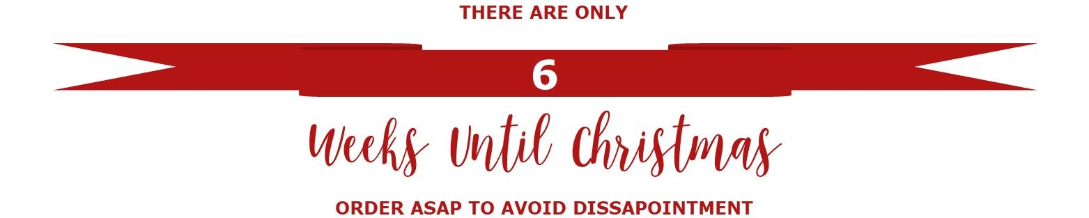 Christmas count down banner 6 weeks