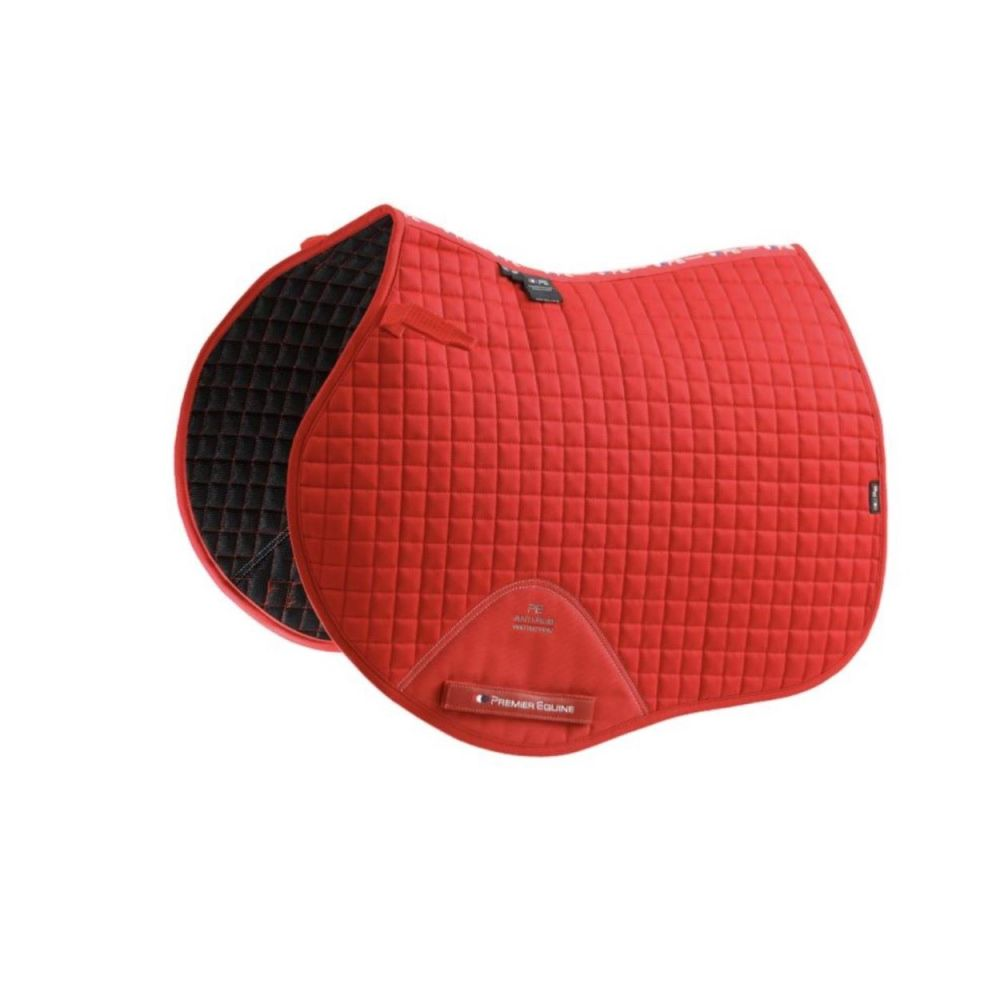 Premier Equine Cotton Close Contact GP/Jump Saddle Pad