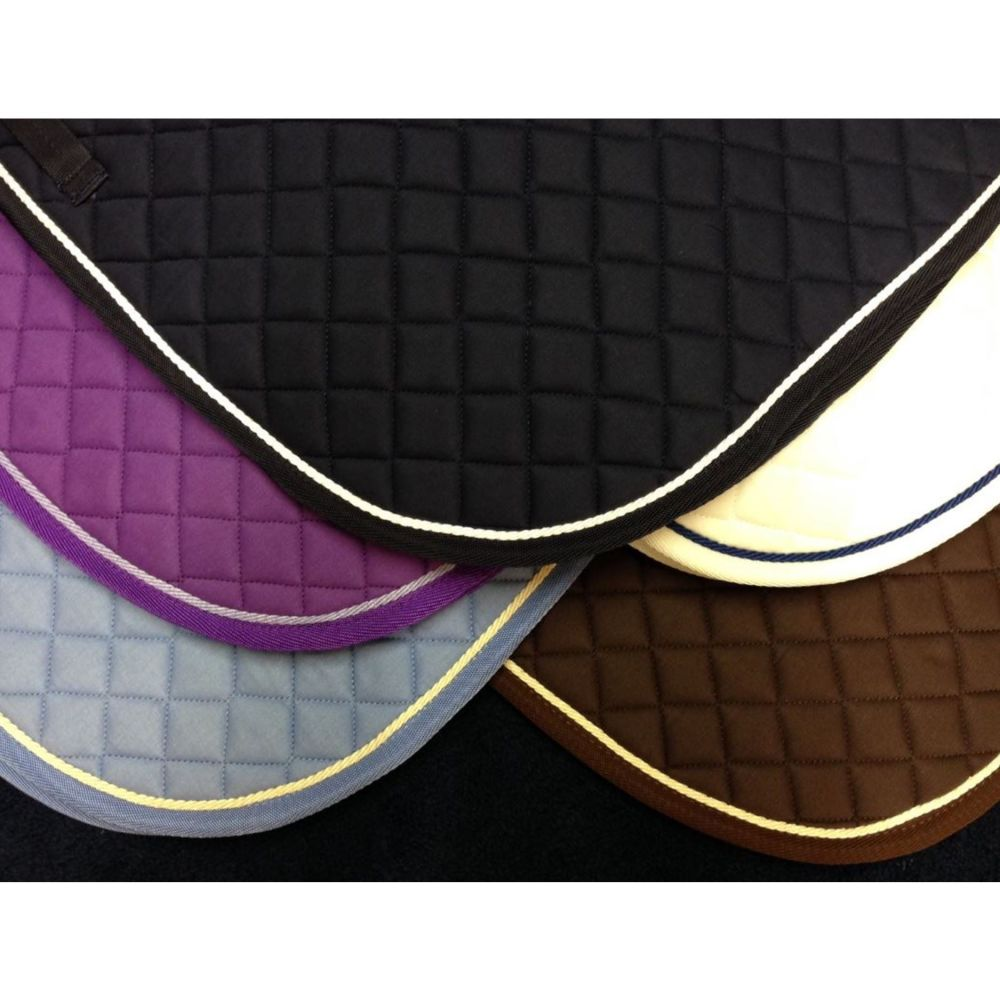 <!-- 008 -->GLP Piped Saddle Cloth