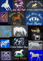 GERNERAL HORSE LOGOS