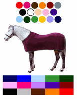 <!-- 0092 -->CUSTOM MADE SADDLE CLOTHS & RUGS
