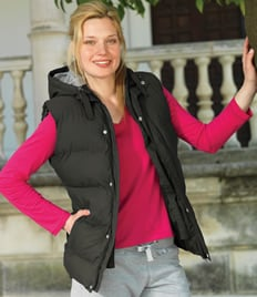 Ladies Skinnifit Bodywarmer Black Only S - XL