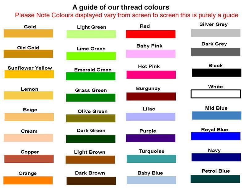 thread colours