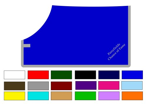 <!-- 005 -->Custom Made Fleece Rug with Single Binding Made in colours of y