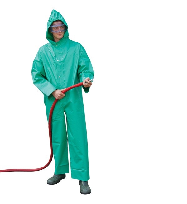 JSP Chemical Boilersuit- green