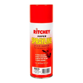 Ritchey Super Sprayline Stock Marker - 400ml Red