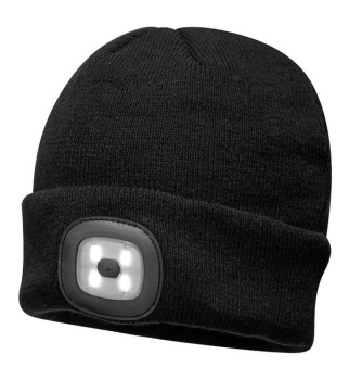 Portwest® B029 Rechargeable LED Beanie #instock