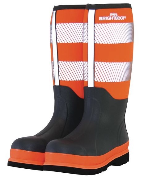 BRIGHTBOOT HI-VIS SAFETY BOOTS