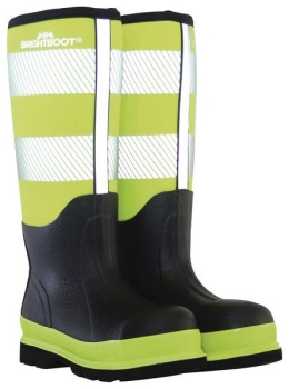 BRIGHTBOOT YELLOW  HI-VIS SAFETY BOOT - TALL #order item