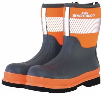 BRIGHTBOOT ORANGE   HI-VIS SAFETY BOOT - MID #order item