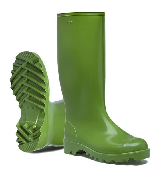 NORA DOLOMITE WELLINGTONS- GREEN 7-14 (ND40G)