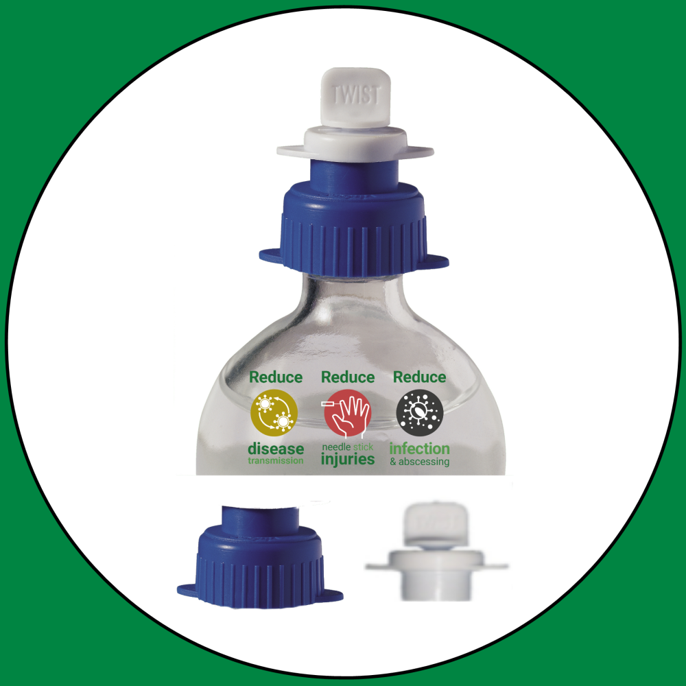 Sterimatic Bottle Collar Packs