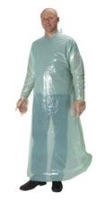 KRUTEX obstetric gown with conical sleeves 25/pk size M/L (260609)