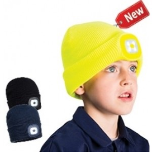 PORTWEST JUNIOR BEANIE LED HEAD LIGHT - (B027) #instock