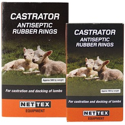 NETTEX Castration Rings (100)