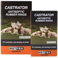 NETTEX Castration Rings (500) #special order 2-3days#
