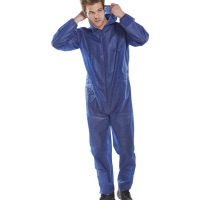 ClickOnce Poly Prop Disposable Boilersuit Blue  ( please read description for delivery updates )