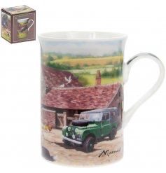 FINE CHINA FARMYARD MUG -single