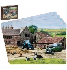 Farmyard Placemats