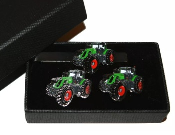 Fendt 939 Tractor  Cufflinks & Tie Clip Gift Boxed Set  #order item