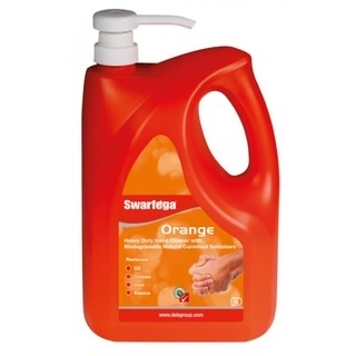 SWARFEGA ORANGE HAND CLEANER PUMP PACK 4LTR  #instock
