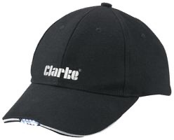 Clarke Baseball Cap With LED Lights #instock