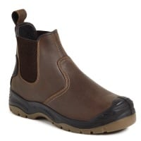 AP715SM Apache Brown Safety Dealer Boot #order item 5-7 days