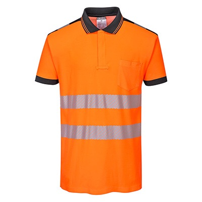Portwest T180 - PW3 Hi-Vis Polo Shirt S/S
