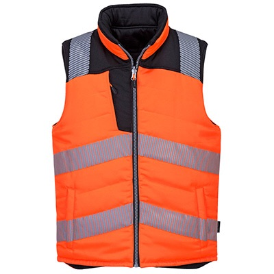 Portwest PW374 - PW3 Hi-Vis Reversible Bodywarmer #New order item