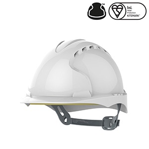 JSP EVO®2 Industrial Safety Helmet  White #instock