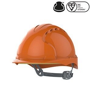 JSP EVO®2 Industrial Safety Helmet Vented- Orange