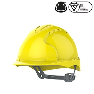 JSP EVO®2 Industrial Safety Helmet Vented- Yellow