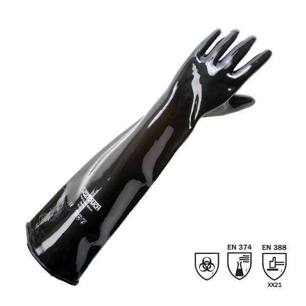 Heavy Duty Rubber Gauntlets 24