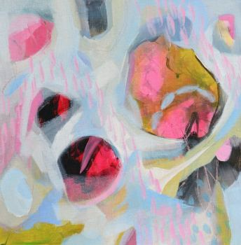 Abstract 172 - Original Abstract Expressionist Painting on Canvas