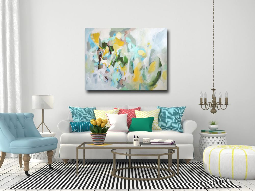 Large Original Abstract Paintings for sale, Modern Contemporary Art on Canvas