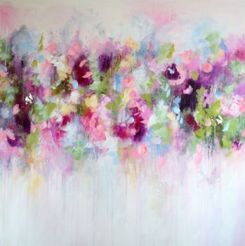 Eva -  Abstract Floral Art Giclee Print