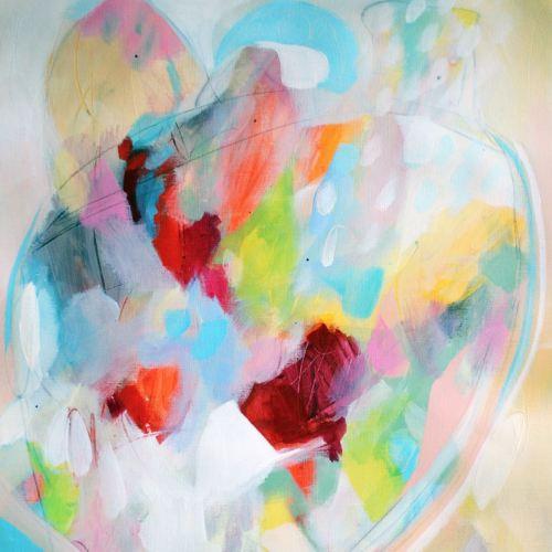 Henrietta - Abstract Art Giclee Print
