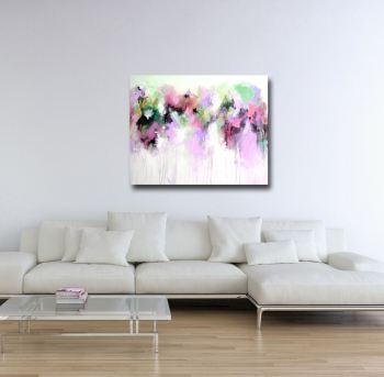 Anna - Abstract Painting Canvas Art Giclee Print