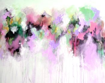 Anna - Colourful Abstract Giclee Print on Paper