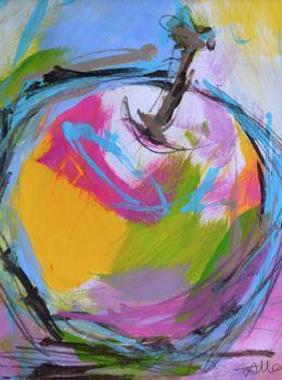 Colourful Apple II - Original Painting