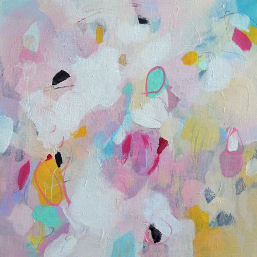 Amelia I - Original Abstract Expressionist Painting on Canvas