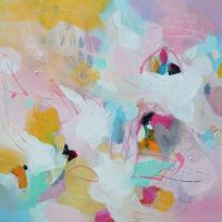 Amelia II - Original Abstract Expressionist Painting on Canvas