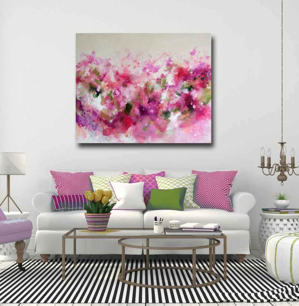 extra large original abstract painting