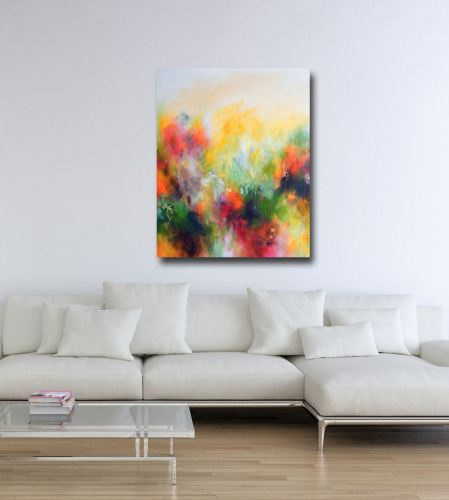 Autumn - Abstract Canvas Art Large Giclee Print
