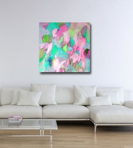 Bella II - Large Abstract Canvas Art Giclee Print from Painting