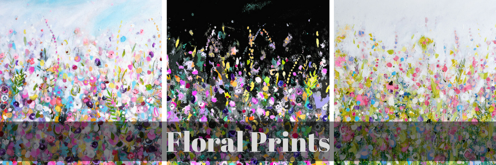 Floral Wall Art Canvas and Fine Art Paper Prints