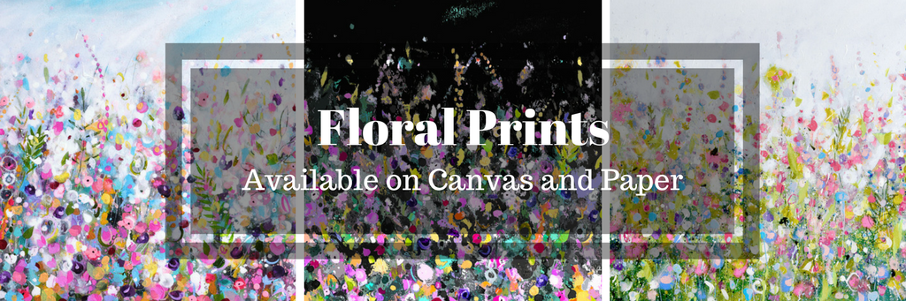 abstract floral art prints, floral canvas art, floral wall art, meadow art, floral prints, modern floral prints