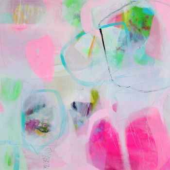 Abstract Wall Art Giclee Print from Painting